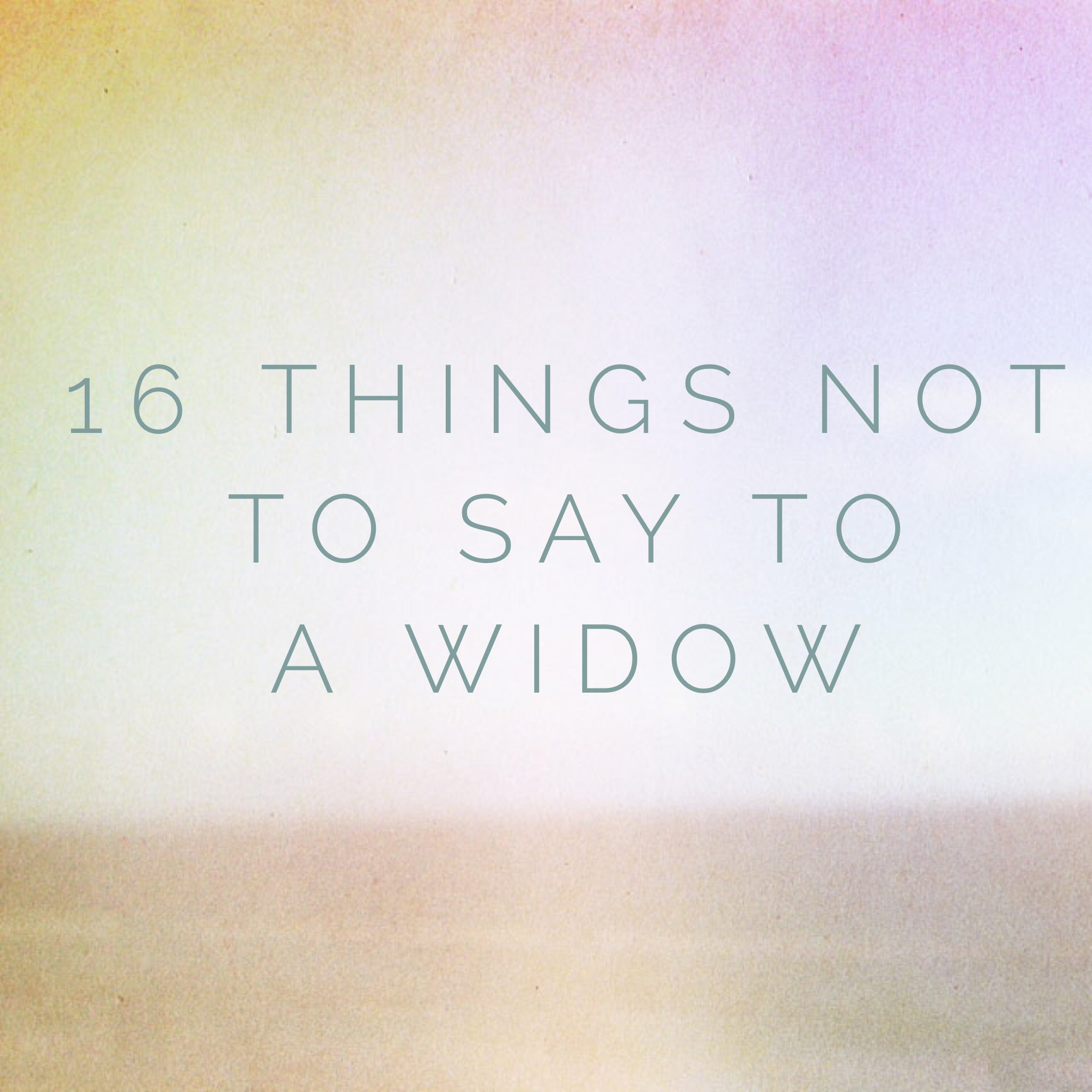 10 Meaningful Gifts For A New Widow