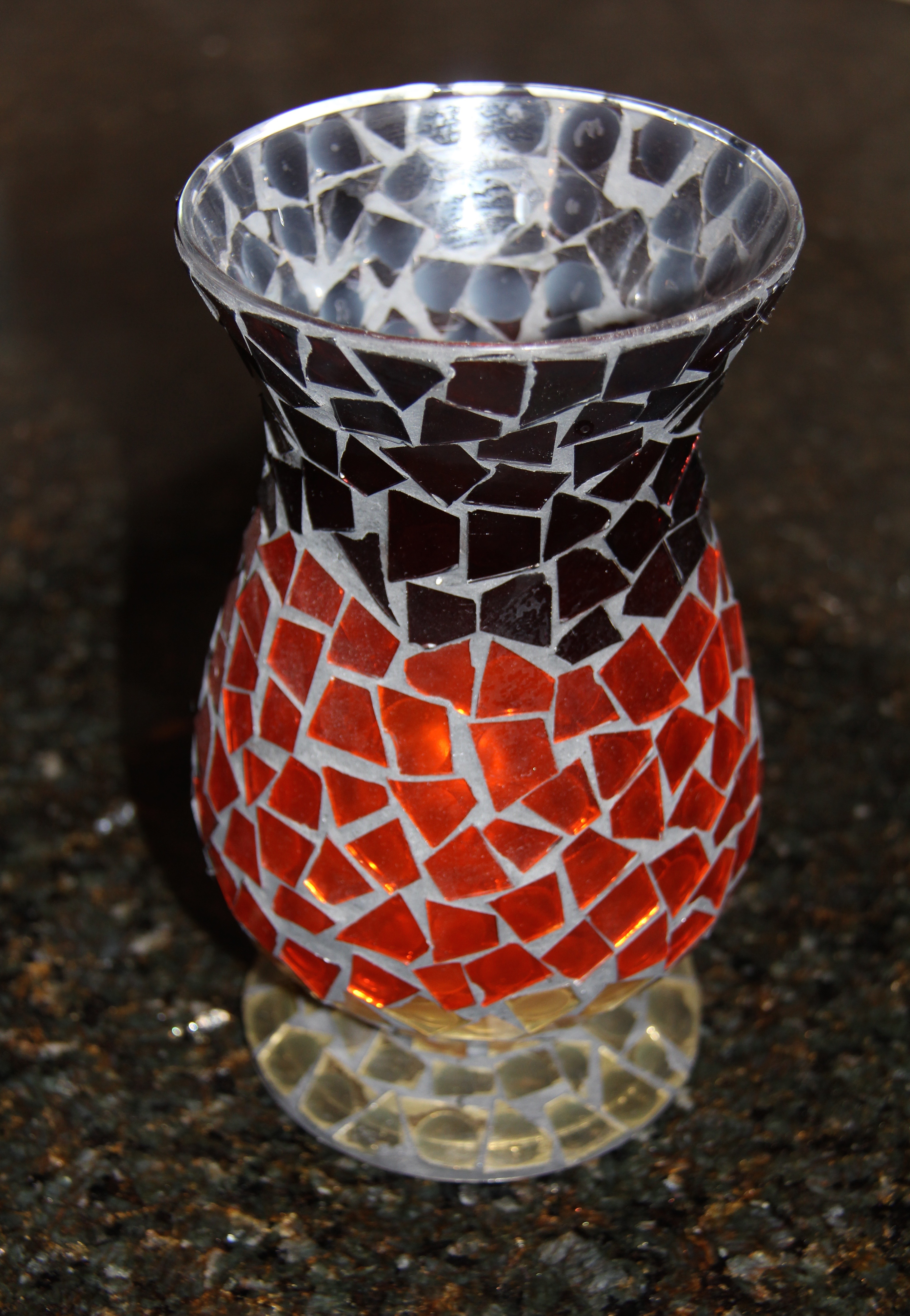 Life Shows Us How To Make A Beautiful Mosaic Vase Marcie Lyons