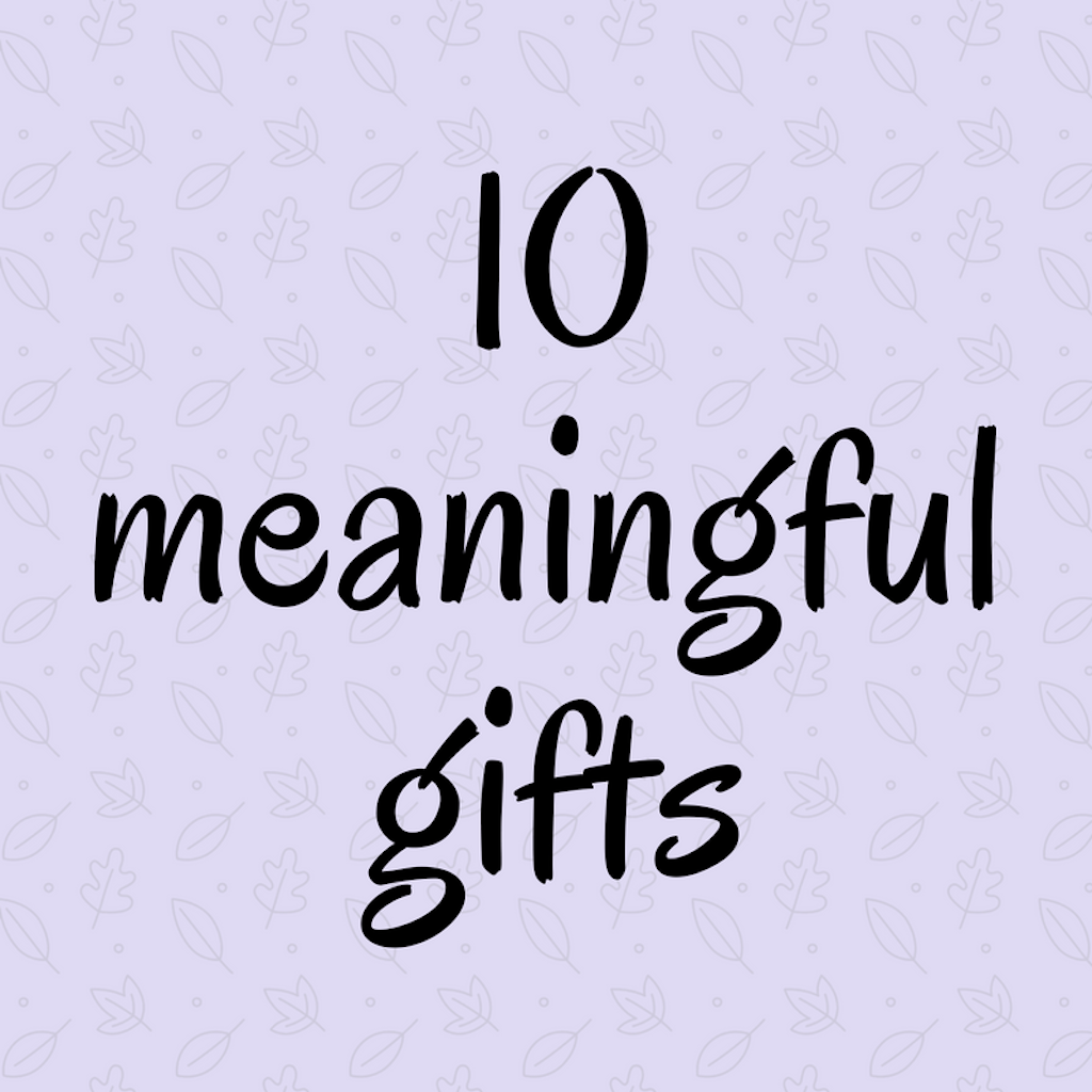 10 Meaningful Gifts For a New Widow - Marcie Lyons