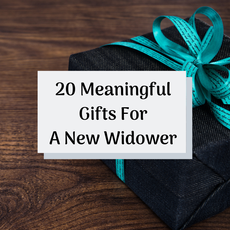 20 Meaningful Gifts For A New Widower Gallery